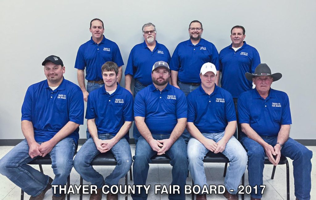 2017 Thayer County Fair Board
